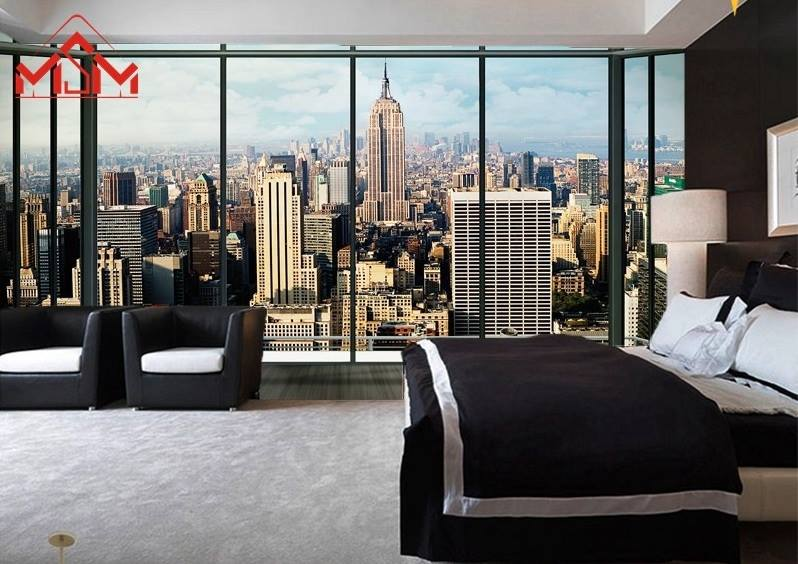 3d wallpaper bedroom mural roll modern on luulla for Modern 3d wallpaper for bedroom