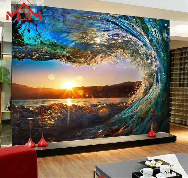 3d wallpaper bedroom mural roll luxury modern on luulla for Luxury 3d wallpaper