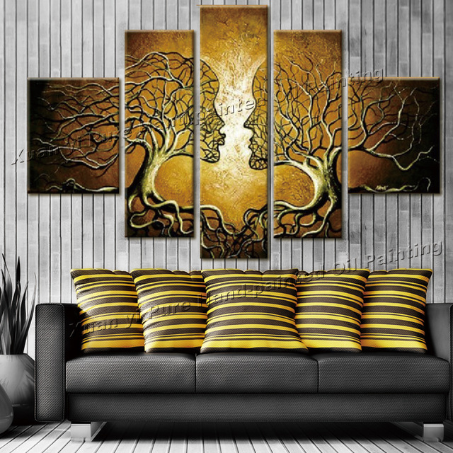 Canvas Wall Decor HD Canvas Printed Modern Paint Wall Decals D - Wall decor canvas