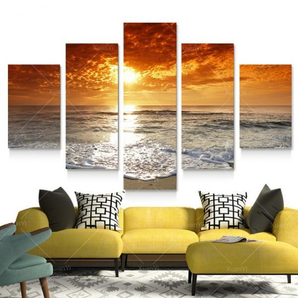 Canvas Wall Decor canvas wall decor hd canvas printed modern paint wall decals 3d